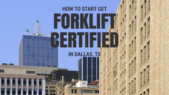 forklift certification dallas