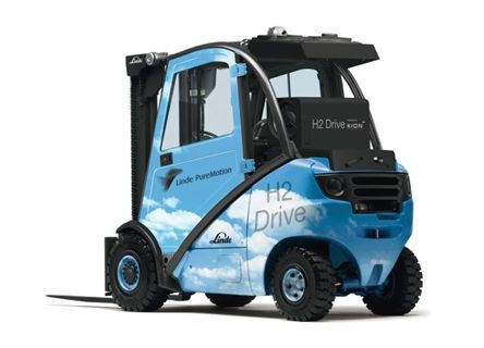 Hydrogen Powered Forklifts: Coming Soon to a Warehouse Near You