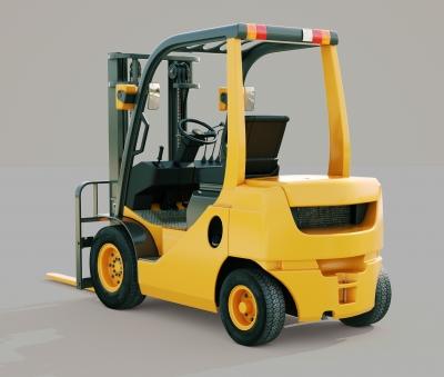 Stolen Forklift