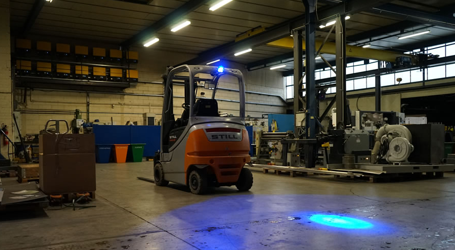 Light Technology Upgrades Forklift Safety Certify Me