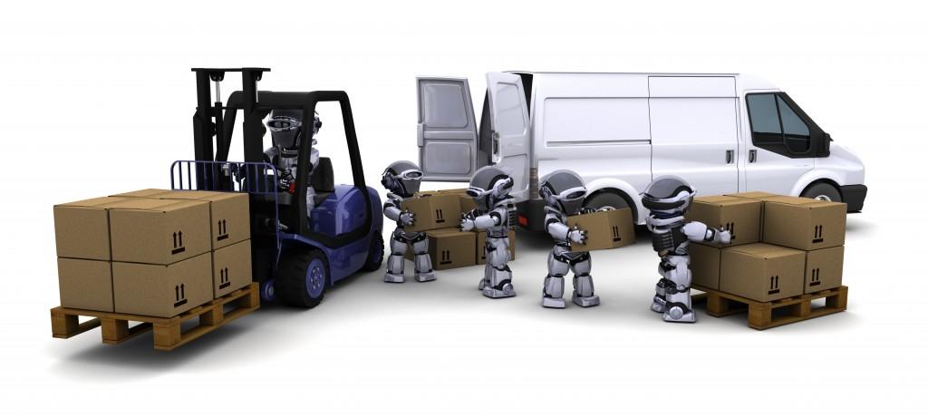 robot vision forklift