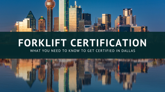 forklift certification dallas