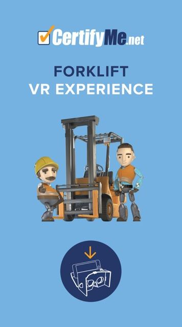 VR Training Forklift