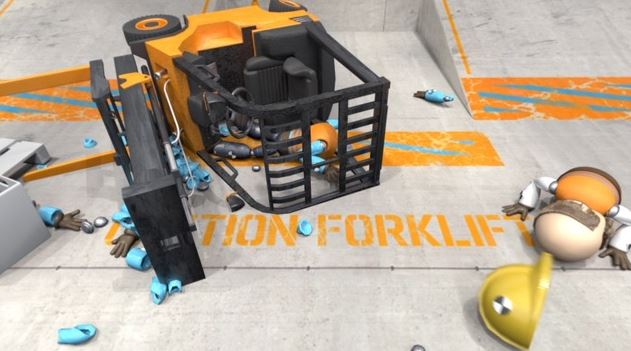 Virtual Reality Training for Forklift