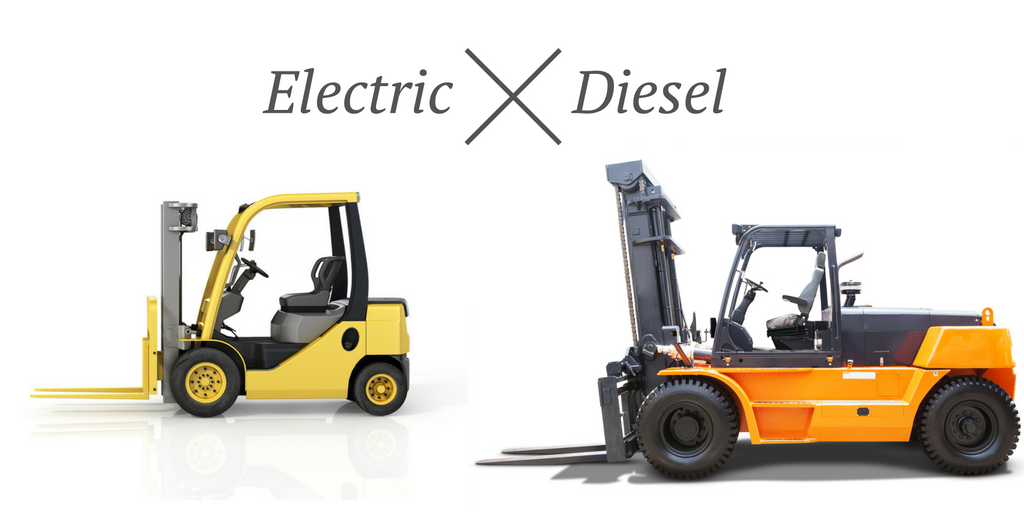 Electric vs. diesel