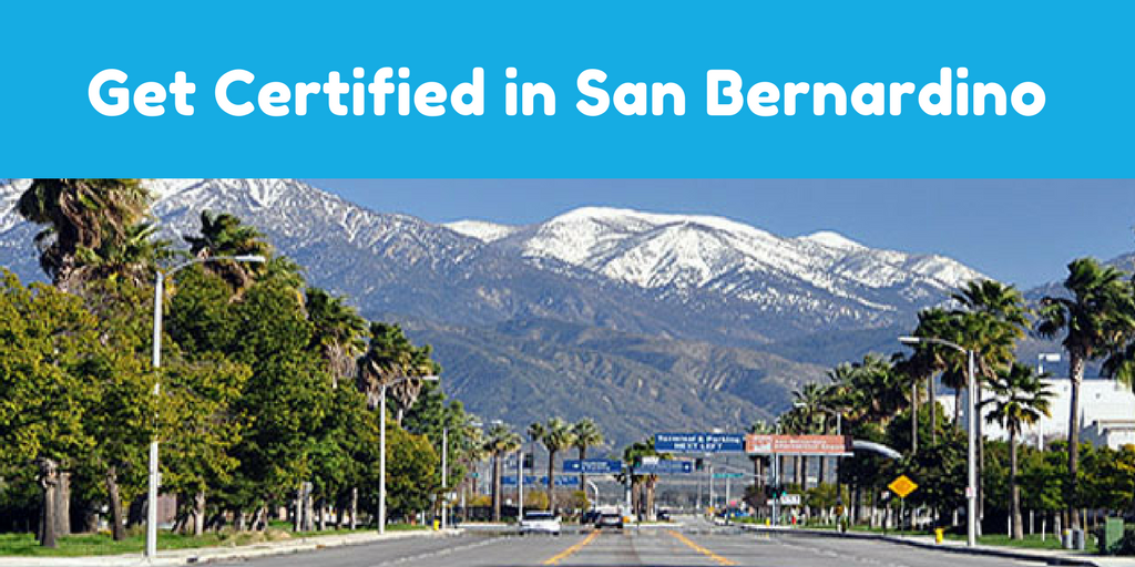 San Bernardino Forklift Certification Sign Up Today