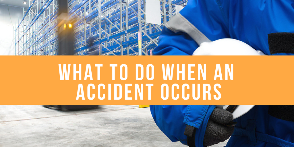 What to do When an Accident Occurs (1)
