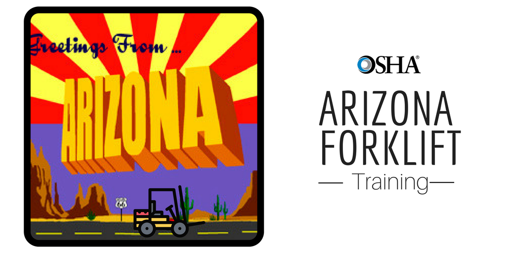 arizona forklift certification