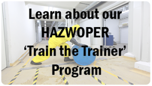 hazwoper train the trainer program