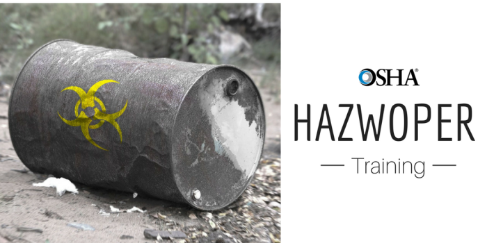 hazwoper training, get hazwoper certification online
