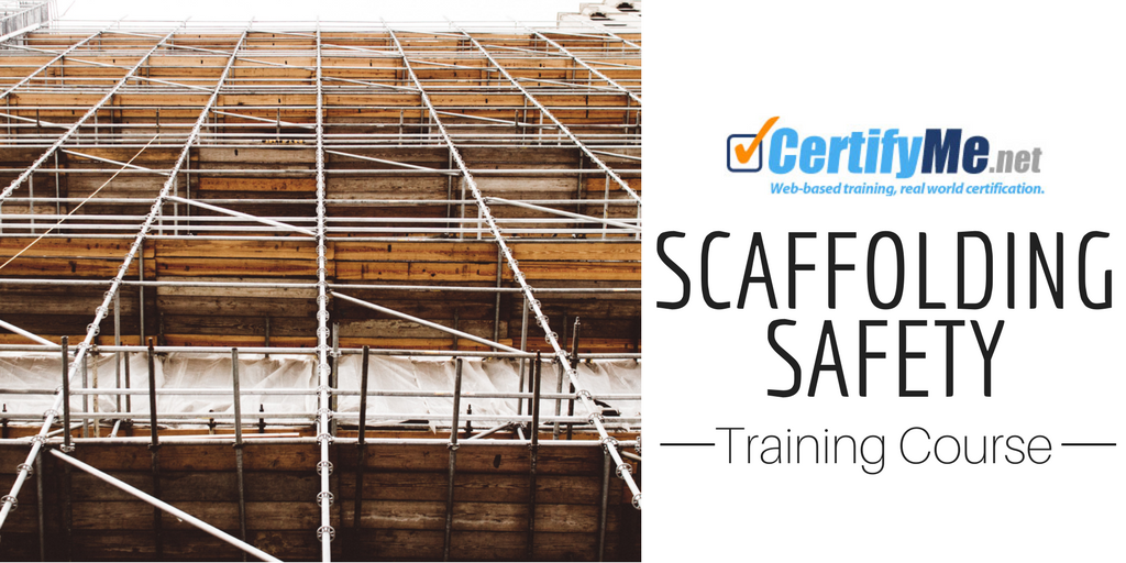 scaffolding safety training
