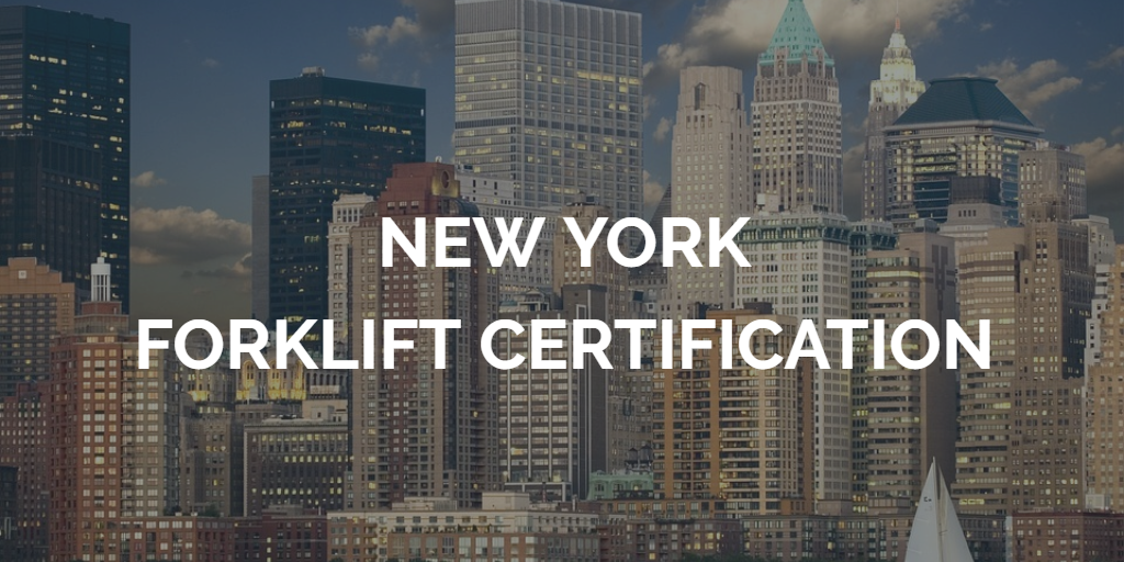 New York Forklift Training New York Forklift Certification Updated