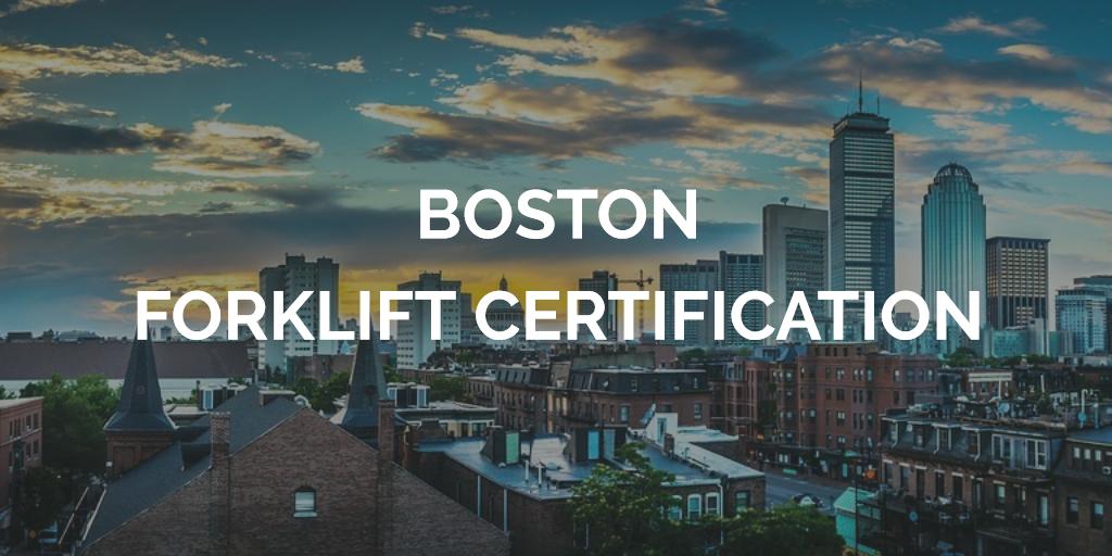 Boston Forklift Training Boston Forklift Certification