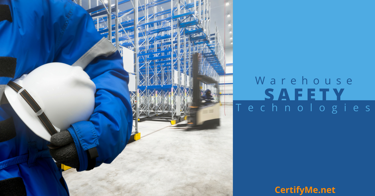 keep your warehouse safe with the latest technology