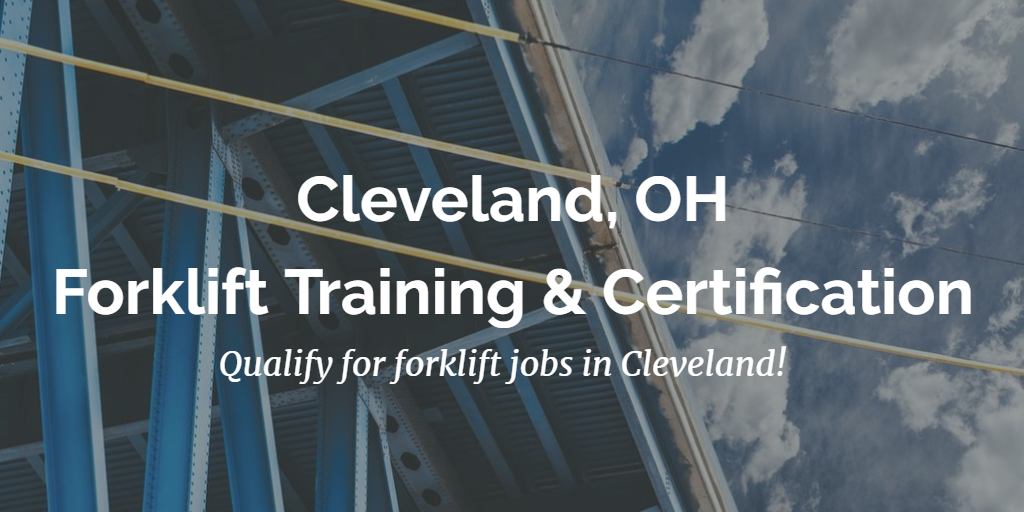 cleveland forklift training and certification