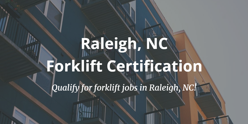 raleigh forklift training and certification