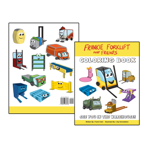 forklift coloring books