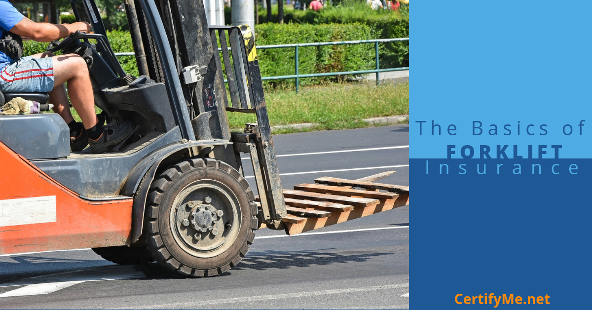 what to know about forklift insurance