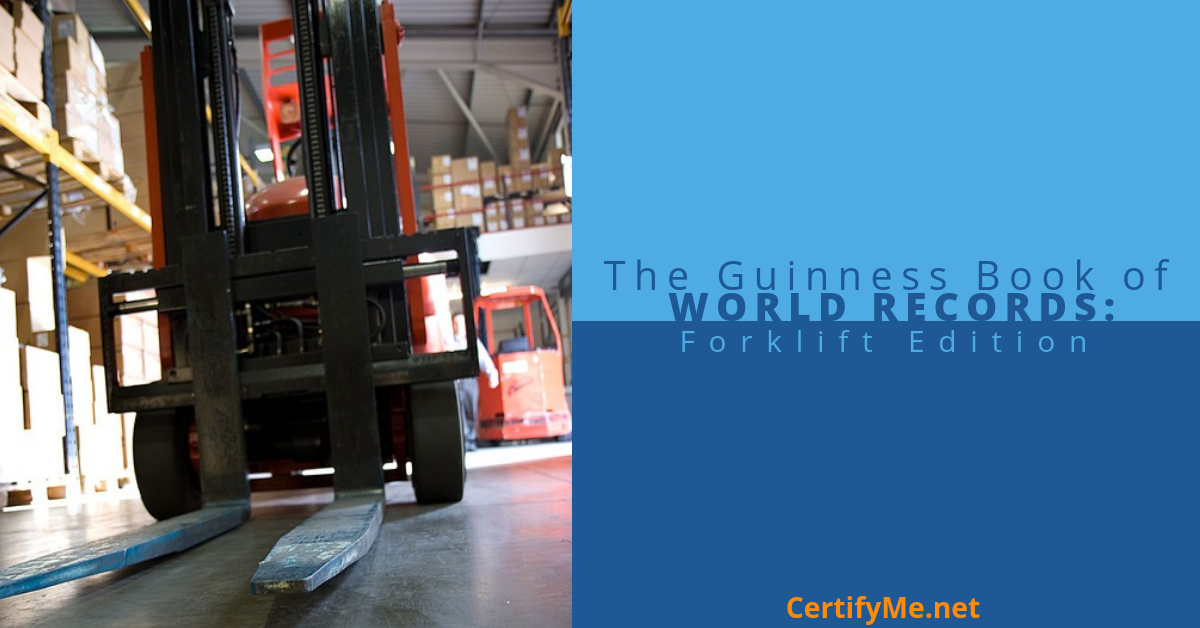 The Guinness Book of World Records: Forklift Edition