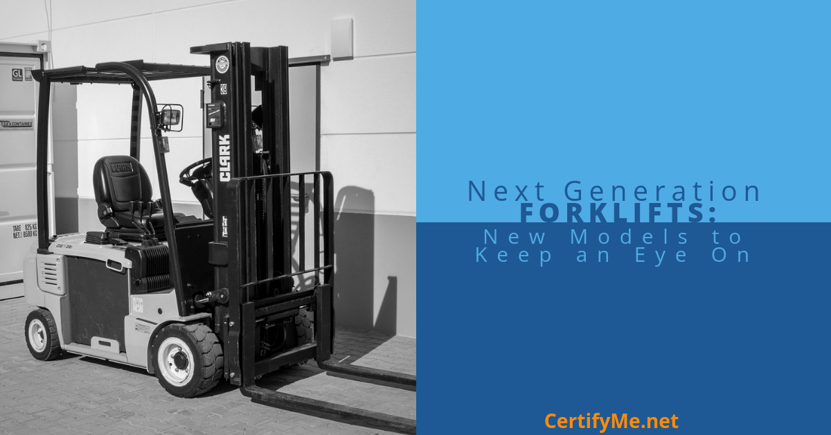 New Models of Forklifts to Keep an Eye On