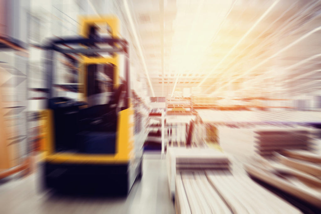 Which forklift can drive the fastest?