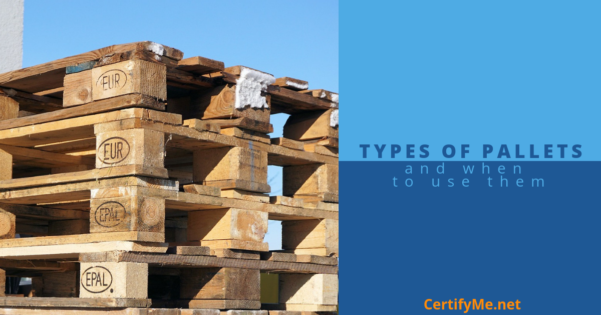 Types of Pallets and When to Use Them