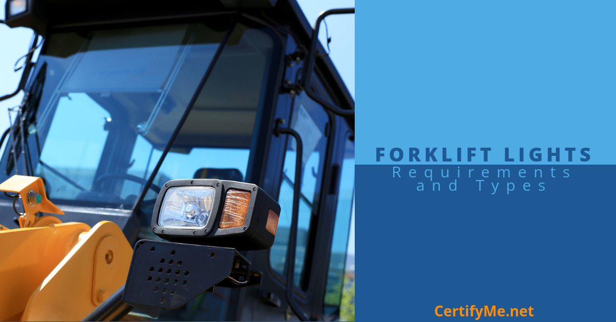 The Future is Bright with the Right Forklift Light