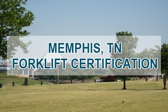 memphis forklift certification