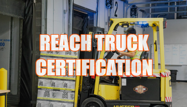reach truck certification