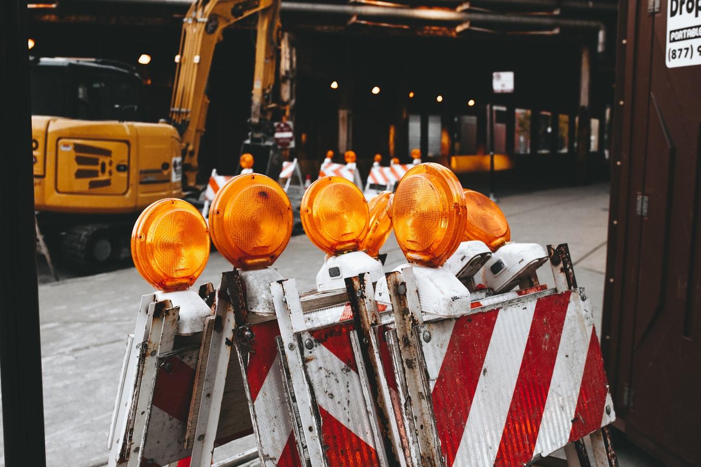 lull forklift construction warning