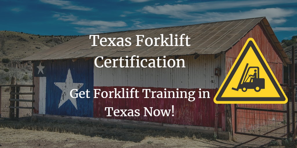 texas forklift certification