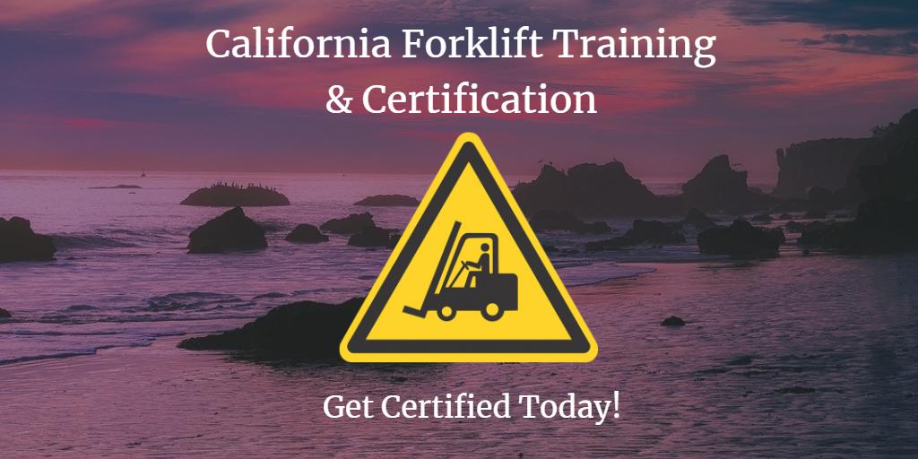 california forklift training